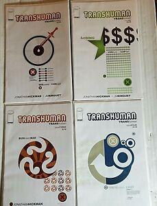 TRANSHUMAN 1-4 VF/Nm 1 - 4 JONATHAN HICKMAN COMPLETE SERIES (2008, IMAGE COMICS)