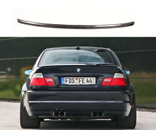 E46 Trunk Boot Lip Spoiler Wing For BMW E46 Coupe 2Door Carbon Fiber M3 Style
