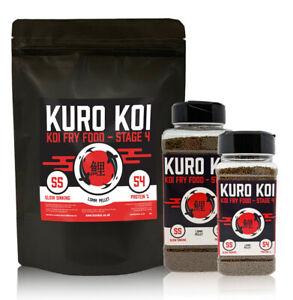 Koi Fry Food - Baby Koi Granules - All Sizes - Kuro Koi