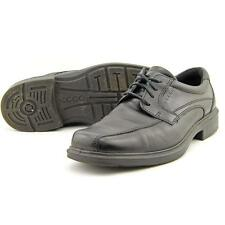 Leather Upper Shoes Solid Square for Men