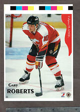 "1996-97 Maggers Proof Calgary Flames' Gary Roberts 6"" x 8.5"""