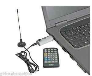NEW RICEVITORE DVB-T USB TV digitale terrestre PC o Notebook antenna telecomando