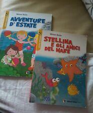 Lotto 2 libri Stellina e gli amici del mare Avventure  d 'ESTATE buone condizion