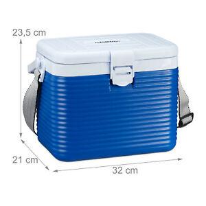 Kühlbox klein Bordbar Auto Kühltasche Camping Thermobox Eisbox mit Griff u. Gurt