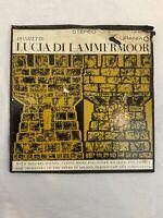 Donizetti - Lucia Di Lammermoor US5232-3 Wilson Opera Di Milano 3 LP W/ Libretto