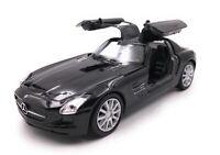 Modellino Auto Mercedes Benz SLS AMG Nero Auto Scala 1:3 4-39 (Licenza)
