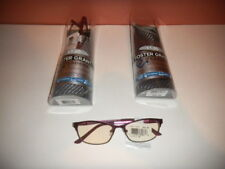 Foster Gant SHIRA BRY Berry Purple READERS Advanced Reading Glasses +1.00