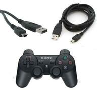2M Mini USB Charger Cable for Playstation 3 PS3 Dualshock 3 Wireless Controller