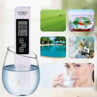 3 in 1 PH Meter TDS EC Tester Digital LCD Water Testing Pen Purity Filter Tool