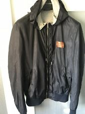 Dolce And Gabbana Men hooded  bomber plaque  jacket  Size  48 100% authentic
