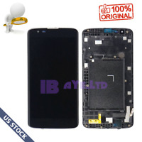 QC A+ For LG K7 K330 LS675  LCD Screen Touch Digitizer +Frame Replacement US
