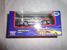 Motor Works Screaming Machines 1998 Mustang Cobra Car 1:43 DIECAST Toy