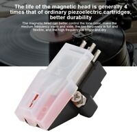 1PCS Turntable Magnetic Head Stylus Needle for Phonograph, Vinyl Record Player
