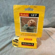 Kodak Kodacolor X CX 127 Color Negative Film