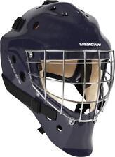 Vaughn 7700 ice hockey goalie helmet navy senior large goal face mask blue new