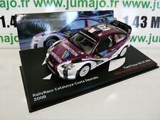 RBE15E voiture 1/43 IXO Altaya Rallye : FOCUS RS 07 WRC 2008 Van Merksteijn #24