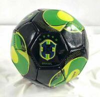 Brasil Soccer Ball Durable Foot Ball Official Size Five Black Green Brazil Ball