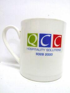 "Australian Fine China Mug - QCC Hospitality Solutions vgc (3 1/2"" x 3 1/8"")"