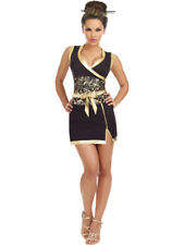 Adults Women's Sexy Oriental Geisha Girl Entertainer Dress Costume X-Large 14-16