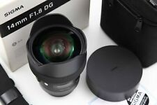 Sigma 14mm 1:1.8 DG HSM Art (Canon)
