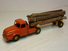 DINKY TOYS 36 + 36A WILLEME + LUMBER CARRIER - 1:50? - GOOD CONDITION