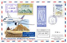 Maxi-FFC Air France 1st flight Paris-Cairo / Concorde 1976 / B787-9 2017 - TYPE2