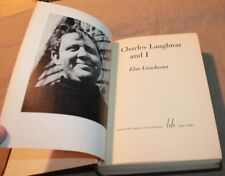 CHARLES LAUGHTON AND I - Elsa Lanchester-Hardcover, 1st American Edition 1938