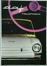 Daf 44 Variomatic UK Market Sales Brochure c. 1966