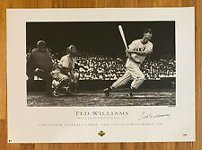 Ted Williams Signed 21x29 Artist's Proof Poster AUTO 44/200 PSA/DNA LOA Red Sox