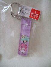 Sanrio Little Twin Stars key holder NEW purple