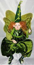 Leprechaun Figure Fairy Mystical Mythological Fantasy Magic St Patrick Doll Art