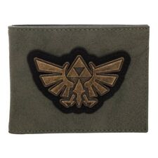 Zelda Distressed PU Green Bi-Fold Wallet