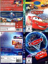 Walt Disney / Pixar: CARS 1 + 2 --- beide Kinohits im Doppelpack ---