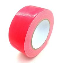 Red AUTOMOTIVE Grade DUCT Tape Gaffa Cloth Strong 48mm x 50m Waterproof Strong