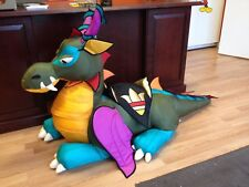 "The Manhattan Toy Company Nod Dragon Huge Giant Sit On 55"" Long Exc Free Ship"