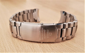 Omega 20mm/22mm Seamaster Professional Planet Ocean 600m watch strap.