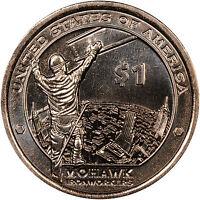 2015 P & D Native American (Sacagawea) Dollar Gem Bu Pair IN STOCK