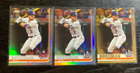Alex Bregman 2019 Topps ASG Lot(3) Refractor/Gold/Rainbow Foil Houston Astros