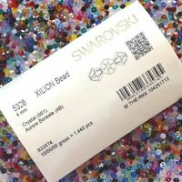 Genuine Swarovski® Bicone Beads 5328 4mm All Colours Small & Wholesale Packs