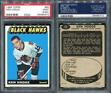 1965 TOPPS #65 KEN HODGE ROOKIE CARD PSA 9 OC (4372)