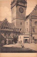 Czech Republic postcard Tabor Radnicni vez street scene