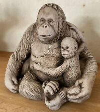 Latex Mould for making this Lovely Mum And Baby Orangutans