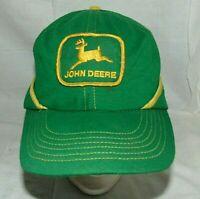 John Deere Cap Hat Fold Down Flap Vintage Winter