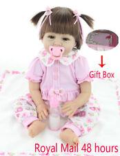 Real Life Like Looking 22inch Reborn Newborn Dolls Handmade Baby Gift Lifelike