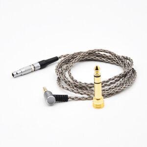 OCC 6-core braid Audio Cable For AKG K812 K812PRO K872 Professional headphones