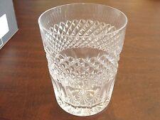 "WATERFORD CARA 4 HIGHBALL GLASSES W/ BOX 4 1/2"""