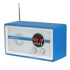 Majestic WR140 radio sveglia digitale FM USB AUX funzione allarme snooze antenna