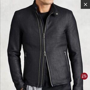 John Varvatos Lux Moto Cotton Jacket (RETAIL $400)