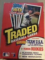 1991 TOPPS TRADED BASEBALL UNOPENED  WAX BOX 36 ct sealed packs