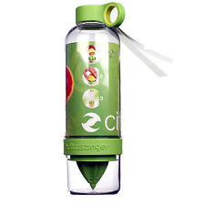 Citrus Zinger Drinking Water Bottle Zing Anything Press Twist Infuse Flavour New